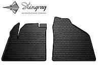 JEEP Cherokee KL 2013- Комплект из 2-х ковриков Черный в салон