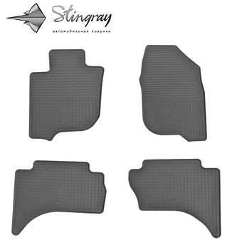 FIAT Fullback 2016- Комплект из 4-х ковриков Черный в салон