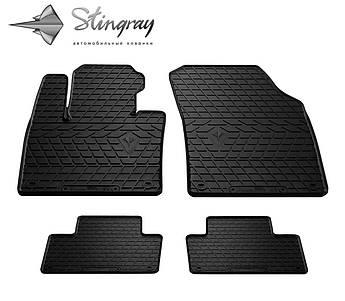 VOLVO XC90 2015- Комплект из 4-х ковриков Черный в салон