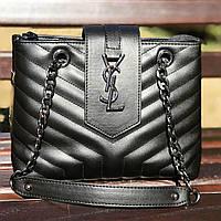 Женская сумка Yves Saint Laurent (Ив Сен Лоран), черный цвет