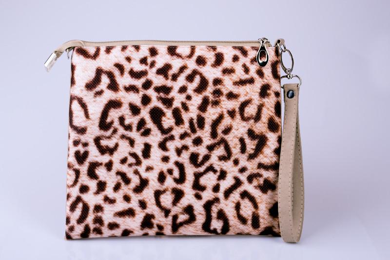 Женский клатч Леопард 03
