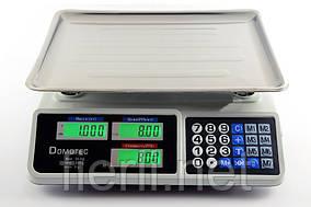 Весы торговые электронные Domotec DT-809  (55 кг)