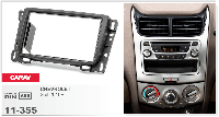 Рамка переходная Carav 11-355 Chevrolet Sail 10+ 2DIN, фото 1