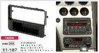 Рамка переходная Carav 11-187 Alfa Romeo 159 05-11, Brere 05-10, Spider 06-10 1DIN w/pocket