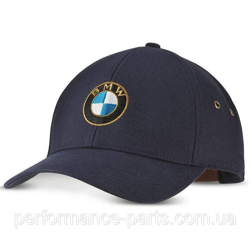 Бейсболка BMW Classic Cap, Unisex, Dark Blue, артикул 80162463137