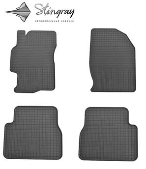 Mazda 6 2008-2013 Комплект из 4-х ковриков Черный в салон