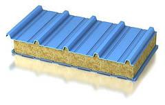 Кровельные сэндвич-панели минеральная вата