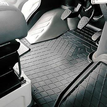 Volkswagen LT 2 (1+1) 1995-2006 Комплект из 4-х ковриков Черный в салон