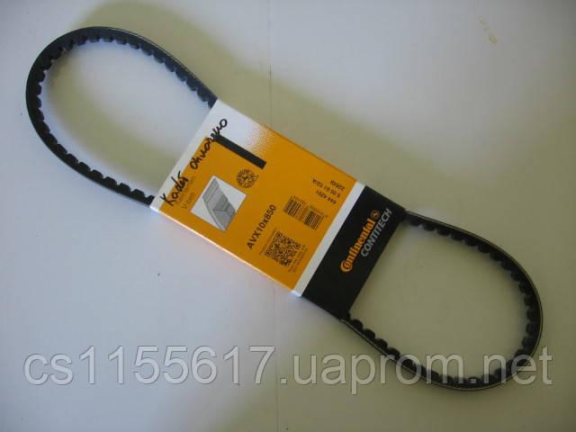 Ремень клиновой ContiTech AVX 10x850 на Alfa Romeo, Audi, Citroen, Fiat, Ford