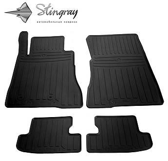 FORD Mustang VI 2014- Комплект из 4-х ковриков Черный в салон