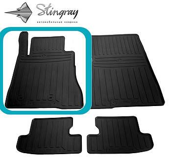 FORD Mustang VI 2014- Водительский коврик Черный в салон