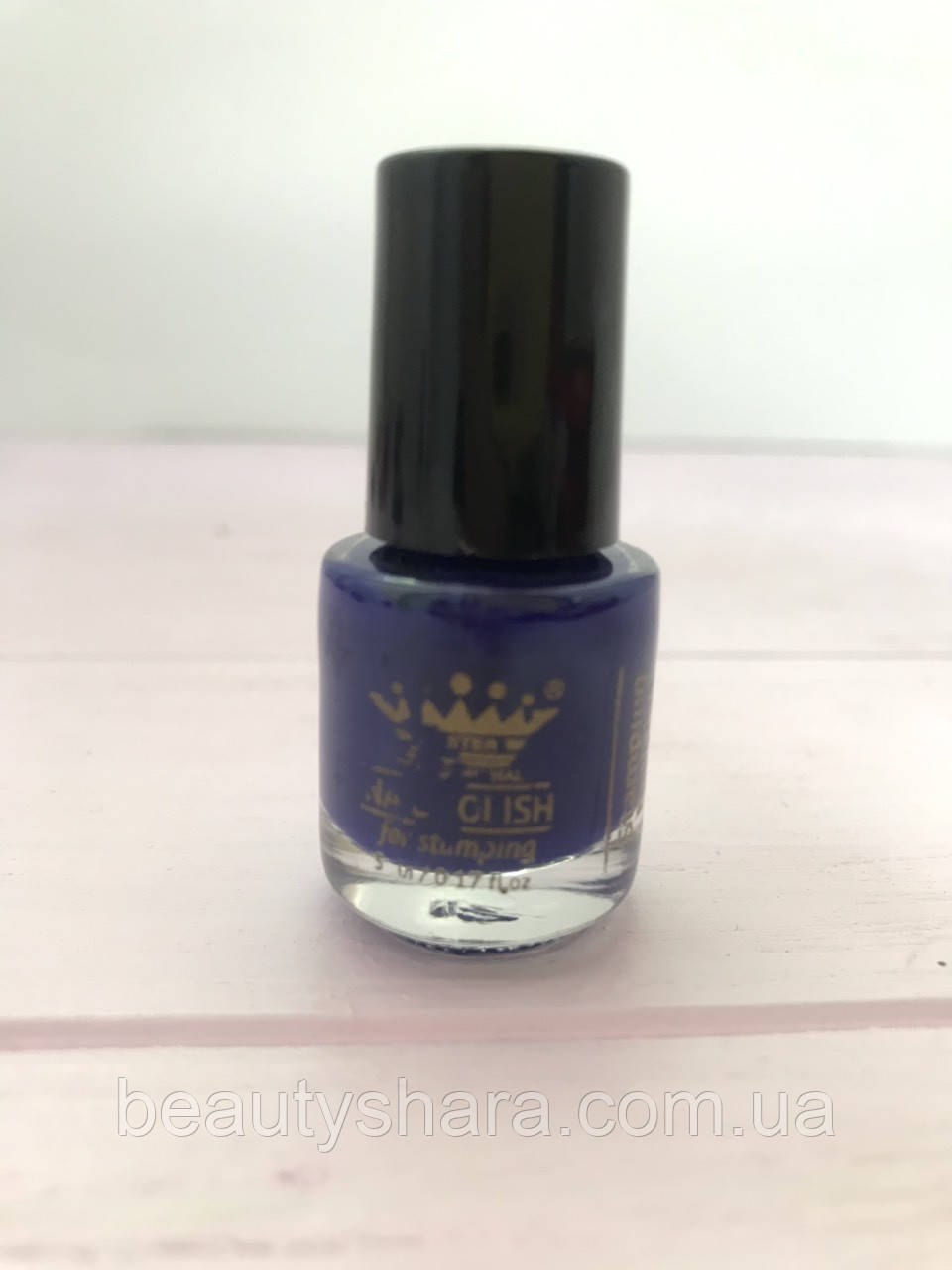 Краска для стемпинга 10мл (синий)