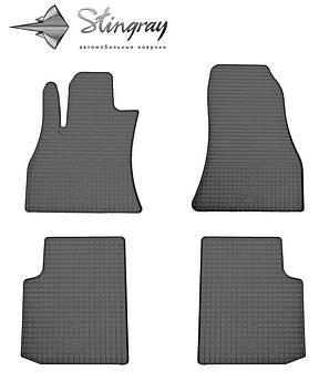 Fiat 500L 2012- Водительский коврик Черный в салон