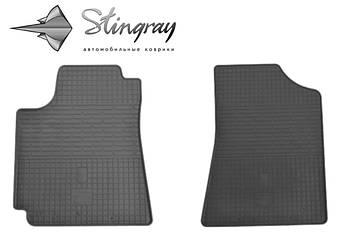 Geely Emgrand EC 7 Комплект из 2-х ковриков Черный в салон
