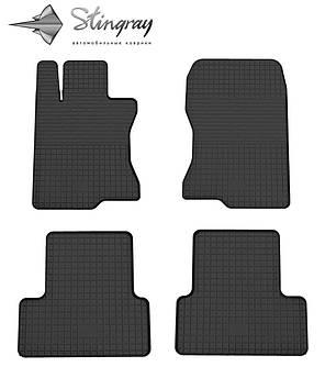 Honda Accord 2008-2013 Водительский коврик Черный в салон