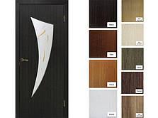 Двері Оміс Фортуна СС+КР. Полотно+коробка+1 до-кт наличників, ПВХ, фото 3