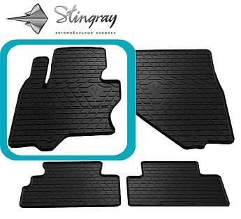 Infiniti FX (S51) 2008- Водительский коврик Черный в салон