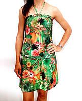 Женское летнее пляжное платье