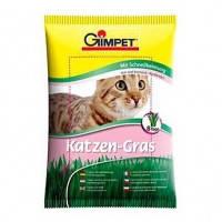 Трава для котов и кошек Gimpet Katzen-Gras трава в мешочке для быстрого проращивания, 100 г