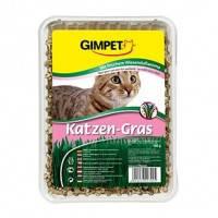 Трава для котов и кошек Gimpet Katzen-Gras трава в мешочке для быстрого проращивания, 150 г