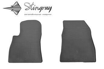 Nissan Sentra 2015- Комплект из 2-х ковриков Черный в салон