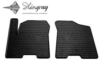 INFINITI QX56 2010- Комплект из 2-х ковриков Черный в салон
