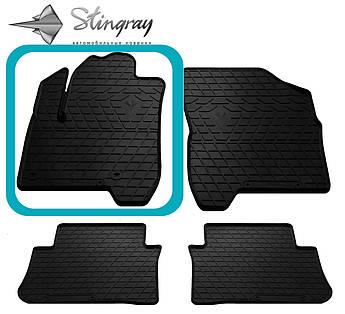 CITROEN C3 Picasso 2009- Водительский коврик Черный в салон