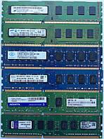Оперативная память DIMM DDR3 4Gb 1333/1600MHz Б/У Под ремонт и восстановление!, фото 1