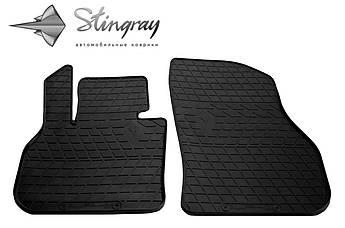 MINI Countryman (F60) 2017- Комплект из 2-х ковриков Черный в салон