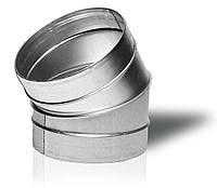 Отвод 30-125 вентиляционный круглый