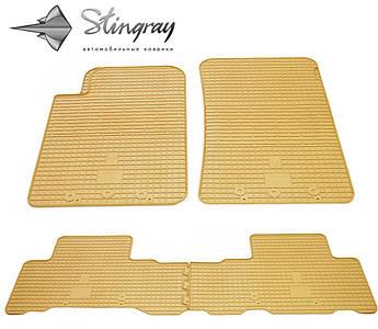 SsangYong Rexton W 2013- Комплект из 4-х ковриков Бежевый в салон