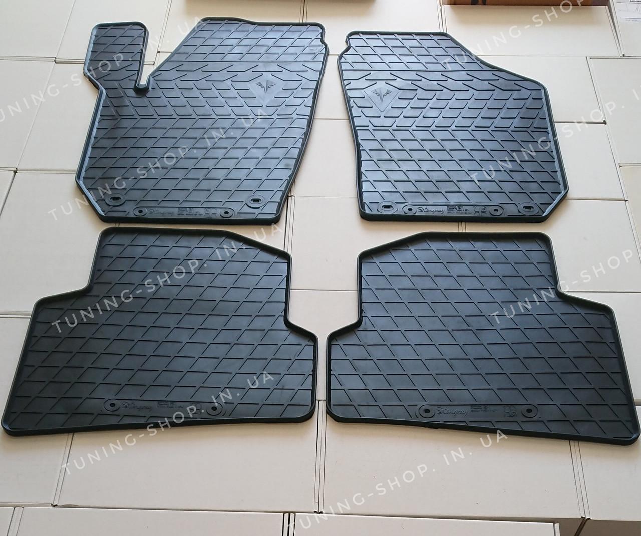 Резиновые коврики Skoda Fabia 2007-2014
