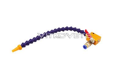 Одинарная шарнирная трубка с краном для подачи СОЖ
