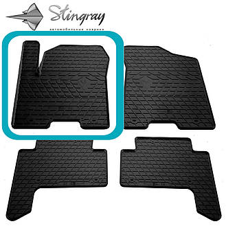 INFINITI QX56 2010- Водительский коврик Черный в салон