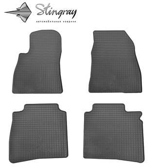 Nissan Sentra 2015- Комплект из 4-х ковриков Черный в салон