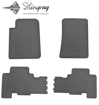 SsangYong Kyron 2006- Комплект из 4-х ковриков Черный в салон