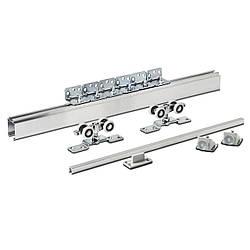 Раздвижная система для дверей Новатор 125 с металлическими каретками