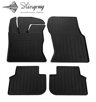 JAGUAR XF (X260) 2015- Комплект из 4-х ковриков Черный в салон