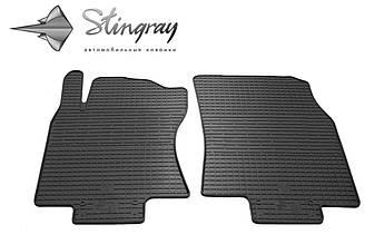 NISSAN Rogue 2013- Комплект из 2-х ковриков Черный в салон