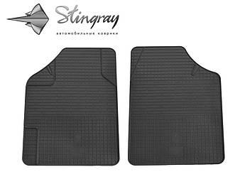 Uni Variant Комплект из 2-х ковриков Черный в салон