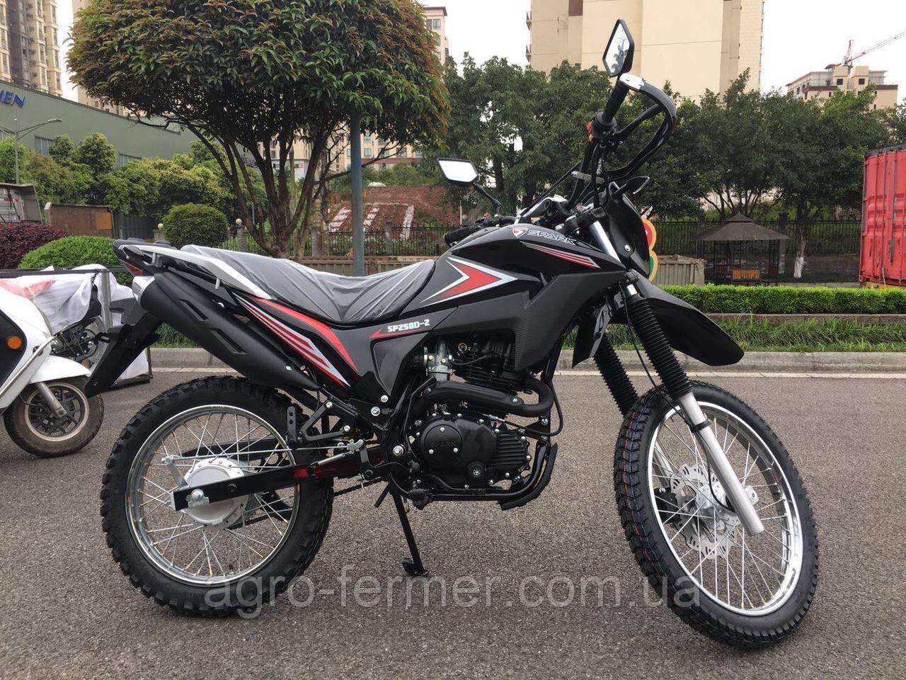 Мотоцикл Spark SP250D-2 (бесплатная доставка)