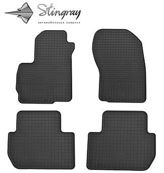 Peugeot 4007 2007-2012 Комплект из 4-х ковриков Черный в салон