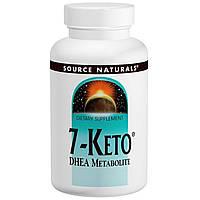 7-Кето потеря веса  DHEA метаболит Source Naturals 100 мг 30 таблеток