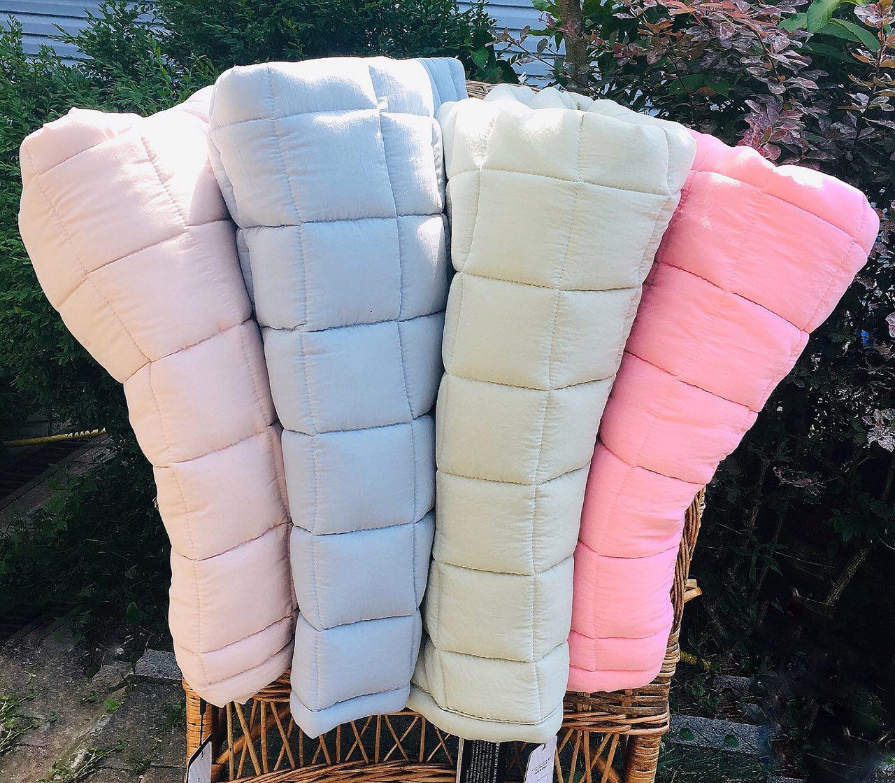 "Одеяло стеганое хлопок ""Зефирка"" 120х200, розовое"
