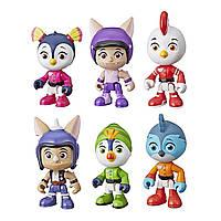 Игровой набор Отважные птенцы крылатый патруль 6 фигурок Top Wing 6-Character Collection Pack Hasbro
