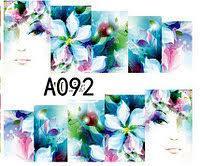 Слайд для дизайна ногтей A092