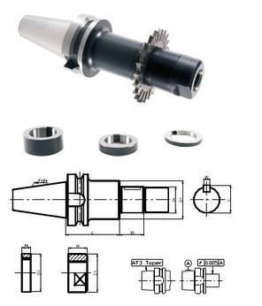 BT40-SCA32-120L(MAS403)  Патрон для дисковых фрез, фото 2