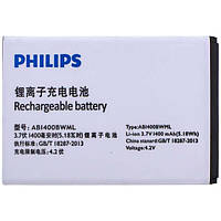 Аккумулятор Philips AB1400BWML. Батарея Philips AB1400BWML (1400 mAh) для S301 S308. Original АКБ (новая)