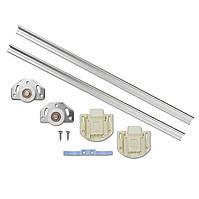 Раздвижная система Омега 30 1.2м для шкафов и перегородок