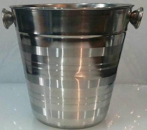 Ведро для льда / шампанского / 1,3 л. Empire 1202, фото 2